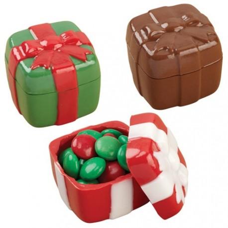 """Moule à chocolats 3D """"Cadeaux de Noël"""""""