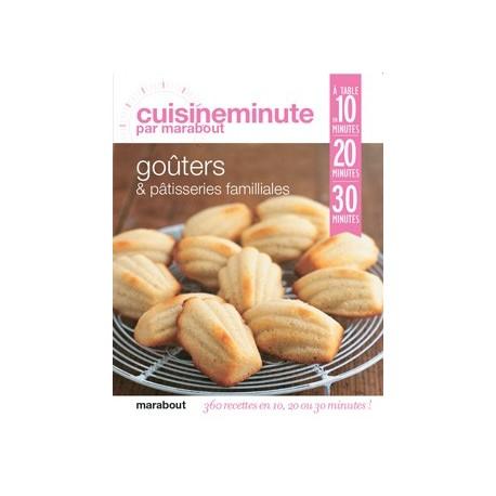 """Livre """"Goûters et pâtisseries familiales"""""""