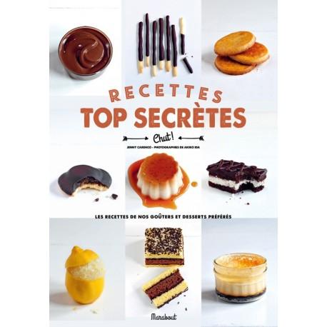 """Livre """"recettes top secrètes"""""""