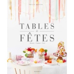 """Livre """"Tables de fêtes"""""""