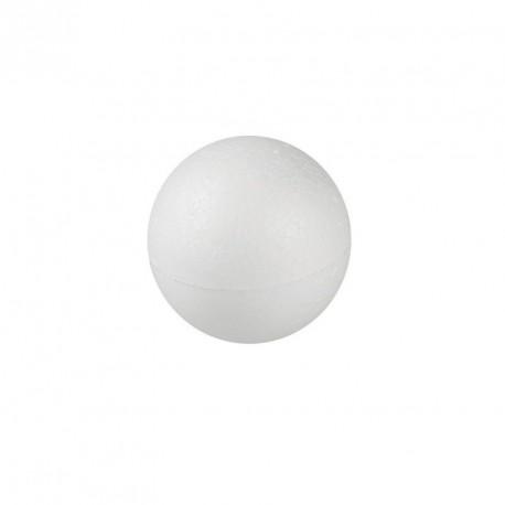 20 mini boules en polystyrène