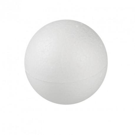 10 boules en polystyrène
