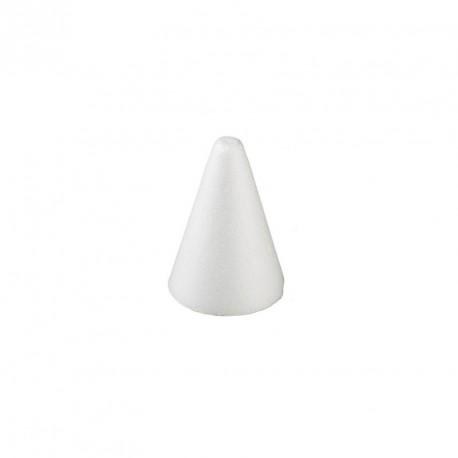 5 mini cônes en polystyrène
