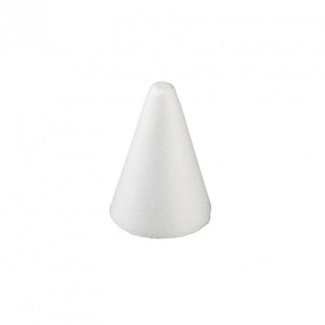 2 cônes en polystyrène