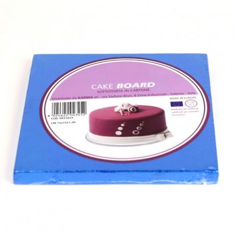Support à gâteau bleu foncé - Différentes tailles