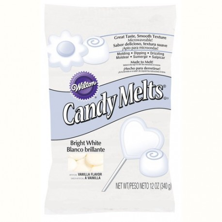 Candy Melts extra blanc - 340 g