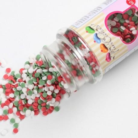 Mini confettis en sucre Noël