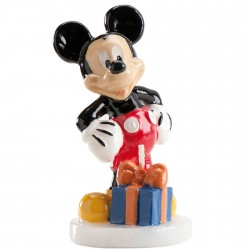 Bougie d'anniversaire Mickey Mouse