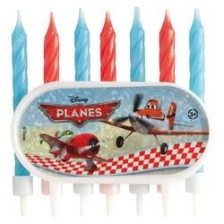 Bougies d'anniversaire Planes