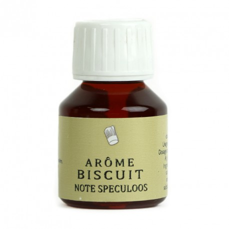 Arôme biscuit note speculoos