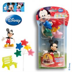 Figurine Mickey et ses ballons