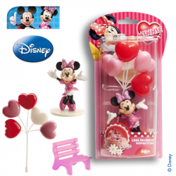 Figurine Minnie et ses ballons