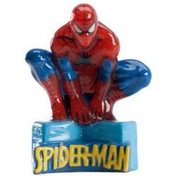 Bougie gâteau Spiderman
