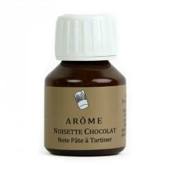 Arôme noisette chocolat note pâte à tartiner