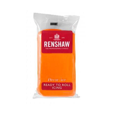 Pâte à sucre 250g Renshaw orange