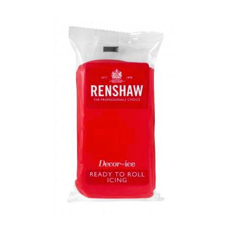 Pâte à sucre 250g Renshaw rouge