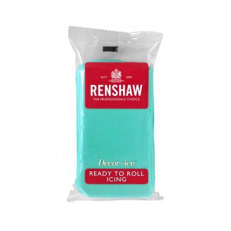 Pâte à sucre 250g Renshaw vert jade
