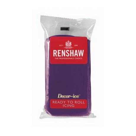 Pâte à sucre 250g Renshaw violet