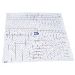 Tapis de travail gradué anti-adhésif (50x50cm)