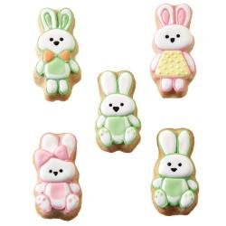"""Moule à biscuits """"La famille Bunny"""""""