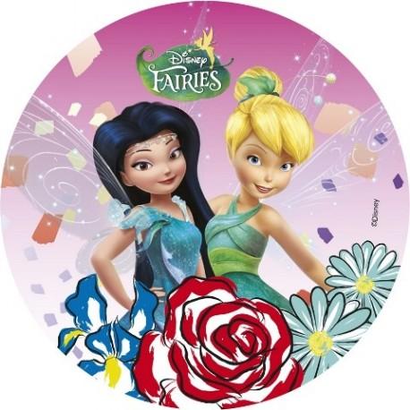 Disque azyme Fairies Disney 20cm - Différents modèles