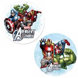 Disque azyme Avengers 20cm - Différents modèles