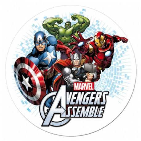 Disque azyme Avengers 20 cm - Différents modèles