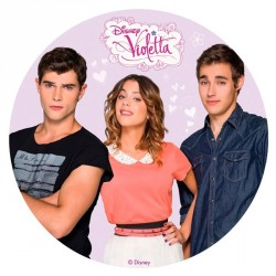 Disque azyme Violetta 20 cm - Différents modèles