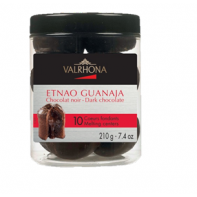 Etnao Guanaja coeurs fondants de Valrhona