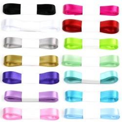 Ruban en satin 5 m - Différentes couleurs