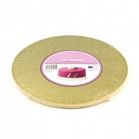Support à gâteau rond doré - Différentes tailles
