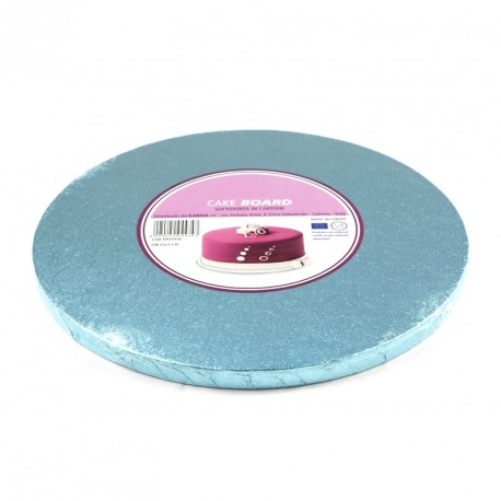 Support à gâteau rond bleu ciel - Différentes tailles