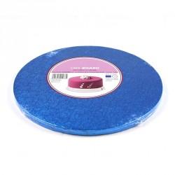 Support à gâteau rond bleu foncé - Différentes tailles