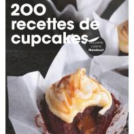 """Livre """"200 recettes de cupcakes"""""""
