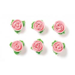 """6 roses en sucre """"rose"""""""