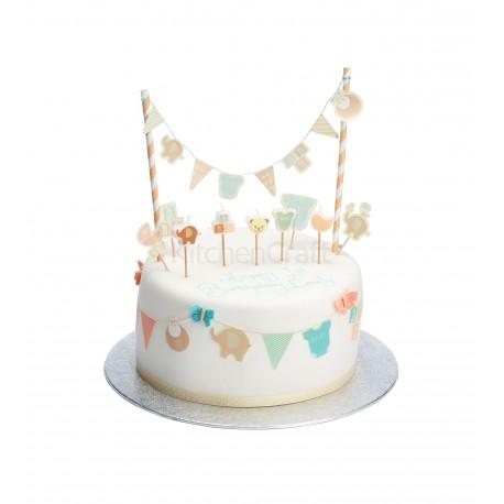 """Décors pour gâteaux """"baby shower"""""""