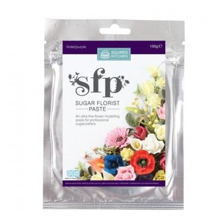 Pâte à modeler (violet) - spécial fleurs