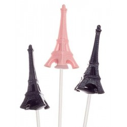 """Moule à sucettes chocolat """"tour Eiffel 3D"""""""