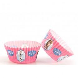 50 caissettes à cupcakes La Reine des Neiges