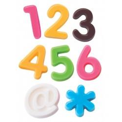 """Moule à chocolats """"chiffres et symboles"""""""