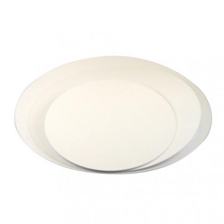 5 supports à gâteau ultra fins ronds - Différentes tailles