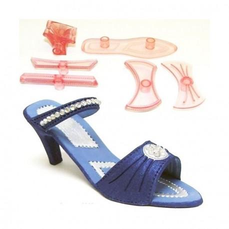"""Emporte-pièces 3D pour gumpaste """"Chaussure à talon"""""""