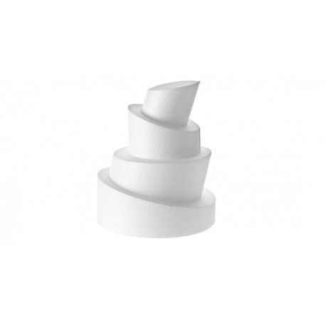 Cake dummy rond hauteur 10 x 5 cm - Différents diamètres