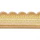 Sucre dentelle prêt-à-l'emploi or - 200 g