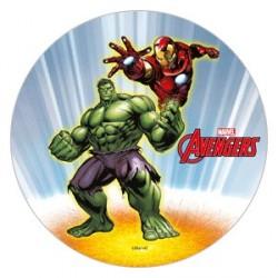 Disque azyme Avengers 21 cm - Différents modèles