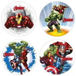 Disque azyme Avengers 21cm - Différents modèles