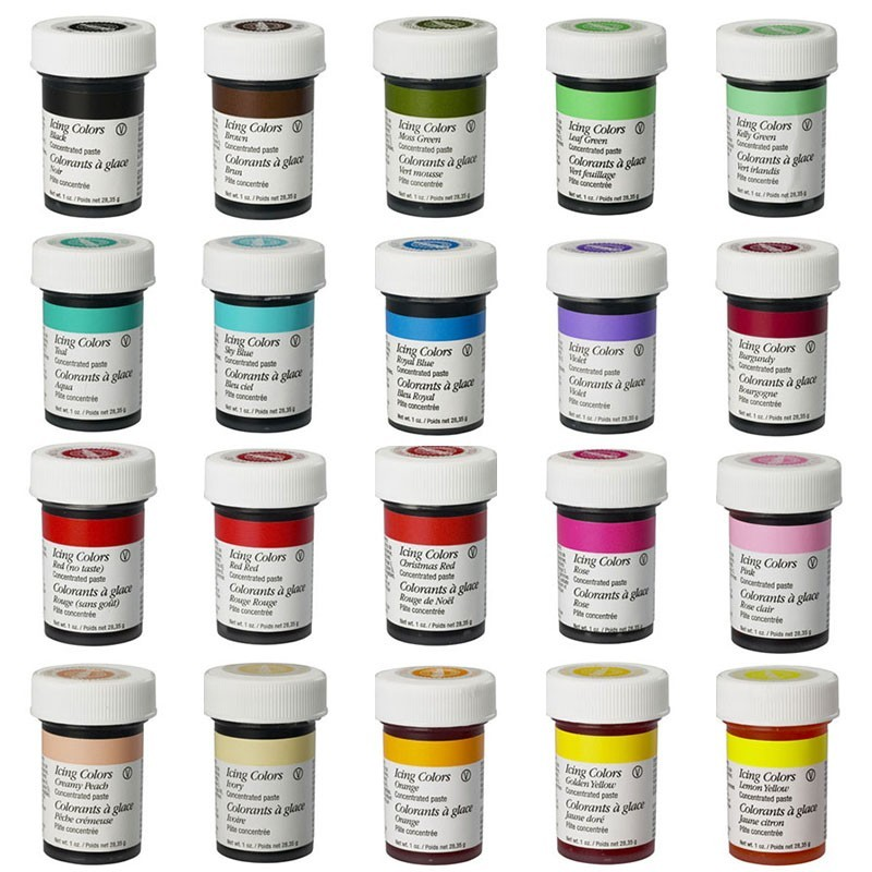 colorant gel alimentaire diffrentes couleurs colorant gel alimentaire diffrentes couleurs - Colorant Wilton