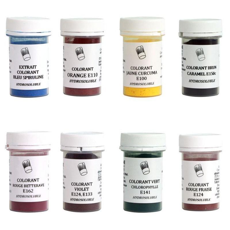 colorant alimentaire en poudre diffrentes couleurs - Colorant Poudre Alimentaire