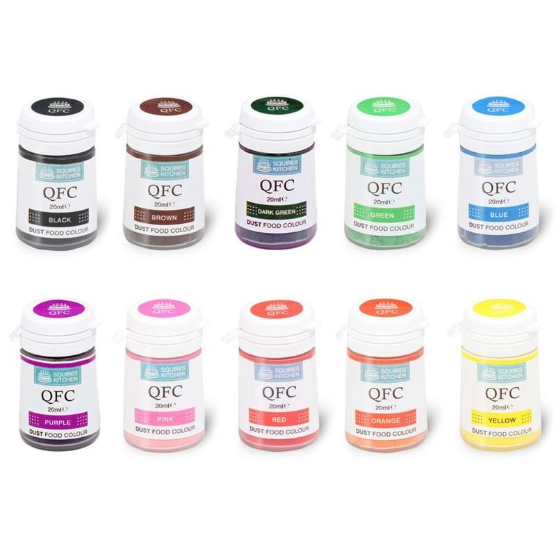 Colorant alimentaire en poudre squires kitchen diff rentes couleurs g teaux et p tisseries - Colorant pour huile de lin ...