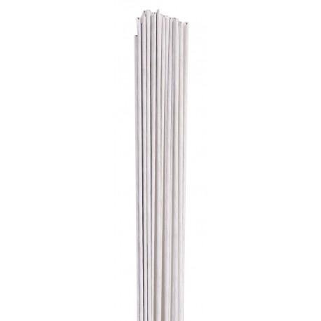 1 lot de 50 fils blancs pour fleurs - 0.32mm